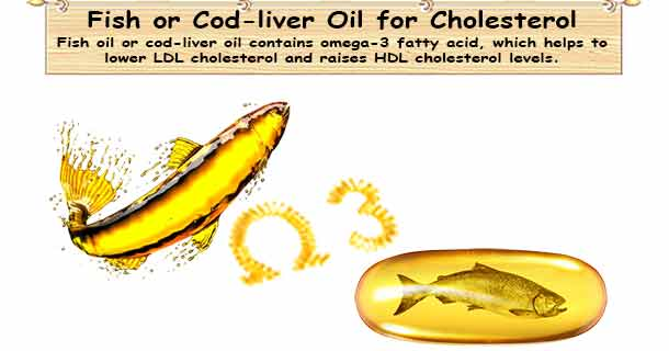 Fish Oil Lower Cholesterol