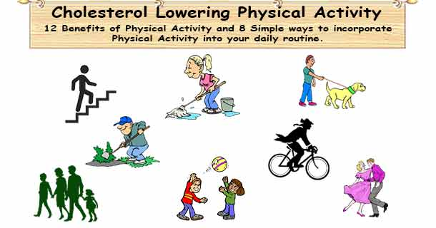 Cholesterol Lowering Physical Activities