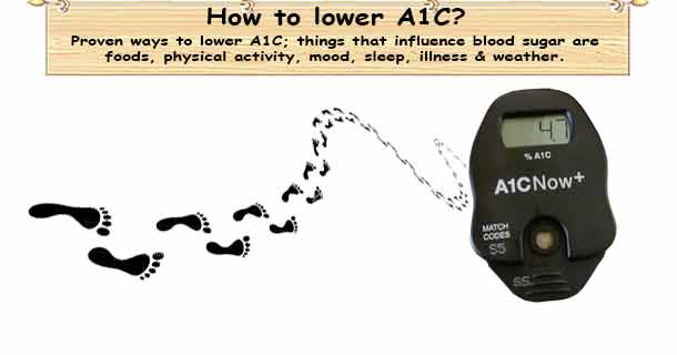 Lowering A1C