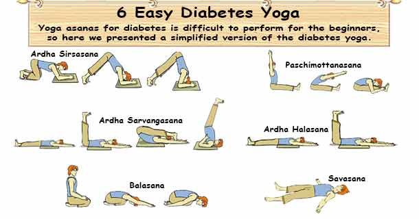 Easy Diabetes Yoga