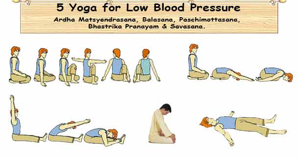 Low Blood Pressure Yoga