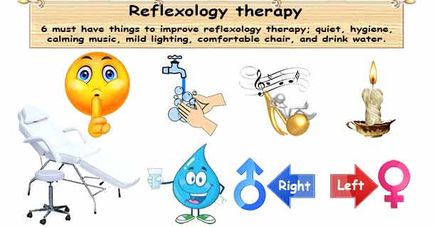 Reflexology Therapy Requirements