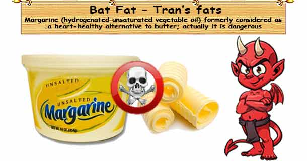 Bad Unhealthy Fats