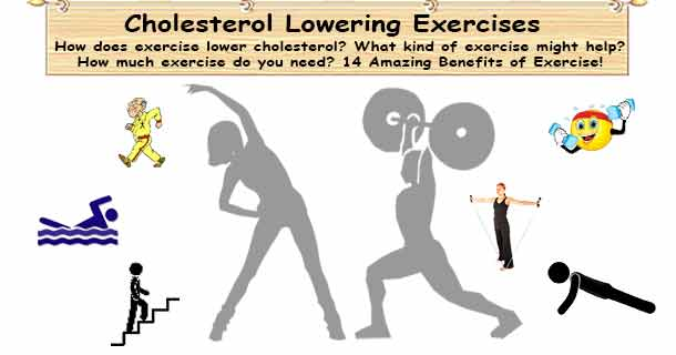 Cholesterol Lowering Exercises
