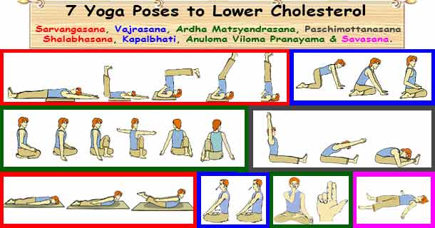 Cholesterol Yoga