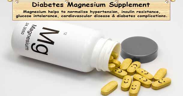 Diabetes Supplement Magnesium