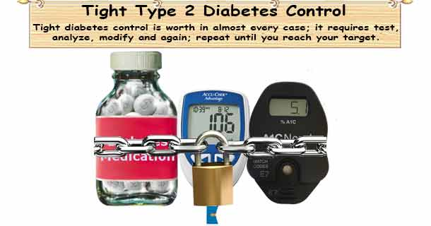 Tight Type 2 Diabetes Control