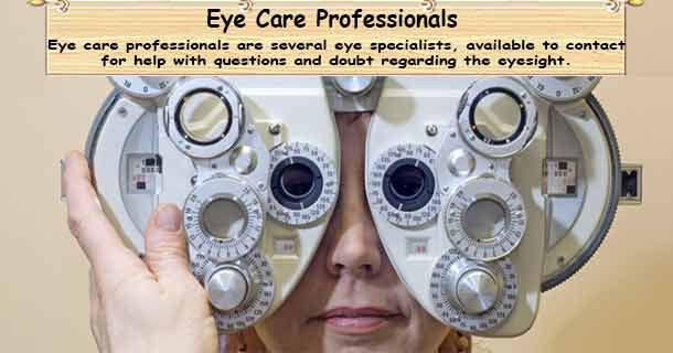 Eye care Professional
