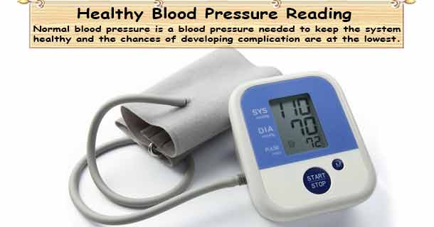 Healthy Blood Pressure Range