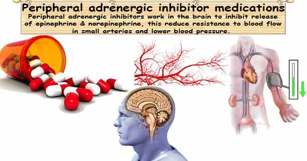 Peripheral adrenergic inhibitors medications
