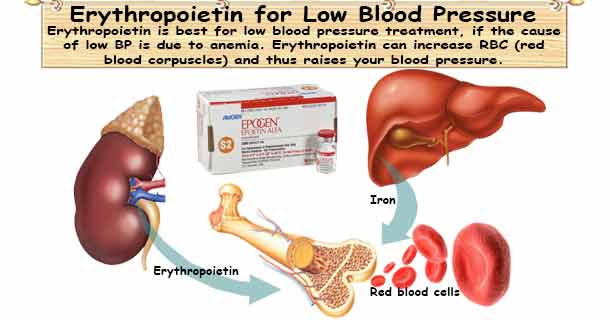 Low Blood Pressure Medication Erythropoietin (Epoetin, Darbepoetin)