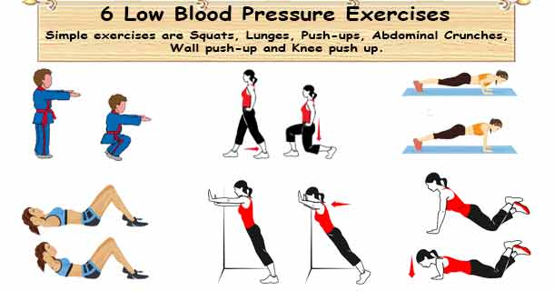 Low Blood Pressure Exercise
