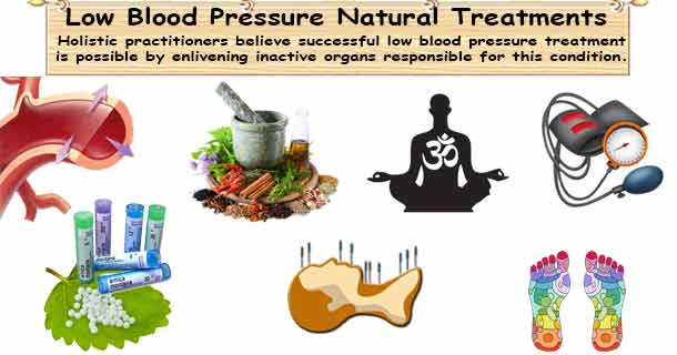 Low Blood Pressure Natural Treatment