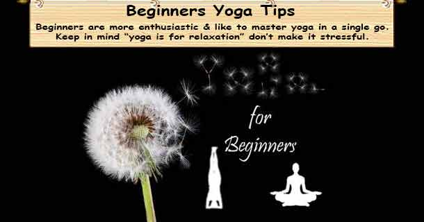 Beginners Yoga Tips