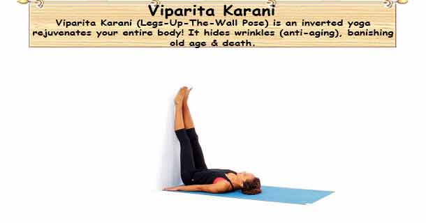 Viparita Karani - Legs-Up-The-Wall Pose