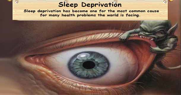 Sleep Deprivation - Lack of restful sleep