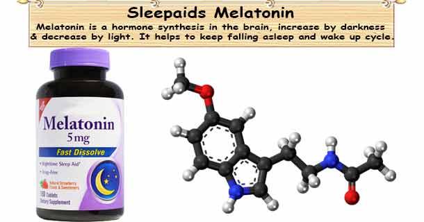Sleepaids Melatonin