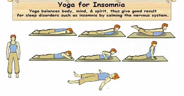 Yoga Therapy for Insomnia